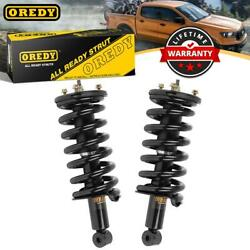 Both 2 Front Complete Struts Assemblies And Spring For Nissan Armada 4wd 05-12