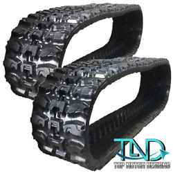 2 Rubber Tracks Fits Case 465 95xt With Vts System 450x86x60 Q-tread 18 Wide