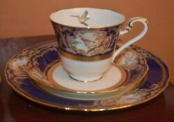 Noritake Foxboro Pattern4302 Trio Plate Cup And Saucer