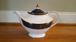 New Royal Doulton Carlyle Fine Bone China Teapot With Lid In Mint Condition