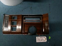 Oem 1977 Cadillac Fleetwood Coupe Deville Instrument Gauge Cluster Cover