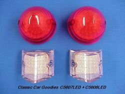 1956 Chevy Led Tail Light Kit. Includes Back Up Lights