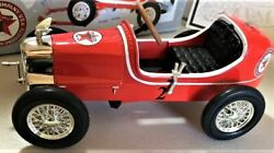 Mini Pedal Car F1gp Race Metal Model Hot Rod Racer Too Small To Ride Toy