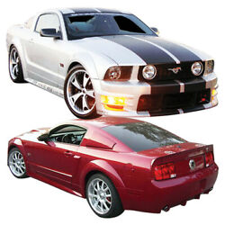 Duraflex Gt500 Wide Body Kit 10 Piece For Mustang Ford 05-09 Ed_104952