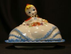 Vintage Hull No. 135889 Little Red Riding Hood Butter Dish