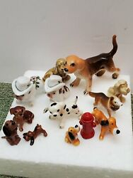 Hagen Renaker Vintage Dog-puppy Lot With Others