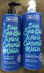 Not Your Mother's Natural Blue Sea Kale And Coconut Water Shampoo And Condition 16oz