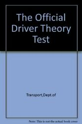 The Official Driver Theory Test By Transport Dept.of Book The Fast Free Shipping