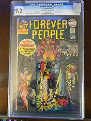 The Forever People 8 Apr-may 1972 Dc Gcg 9.2 Bondage Cover Early Darkseid