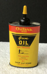 Vintage Outers 445 Gun Oil 3 Oz For Firearms Lubricant Handy Can 88