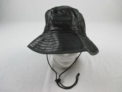 New Era Hat Men#x27;s Black Bucket NEW OSFM $25.65