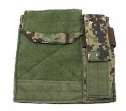 New Eagle Industries Aor2 Admin Pouch W/ Flashlight Holder Soflcs Molle