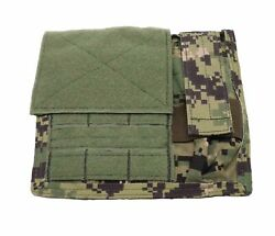 New Eagle Industries Aor2 Admin Pouch W/ Flashlight Holder Maritime Soflcs Molle