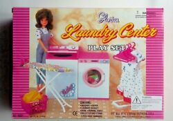 New Gloria Doll House Furniture Laundry Washer + Dryer Playset 96001