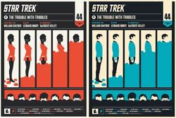 Star Trek By Olly Moss - Set Of 2 Prints - Rare Mondo Print Sold Out