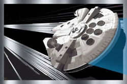 Star Wars - Millenium Falcon By Craig Drake - Metal - Not Mondo Print Sold Out