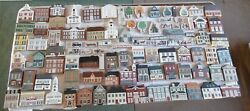 The Cats Meow Village Huge Lot Vtg 1980s 90's Decorative Christmas Collectibles