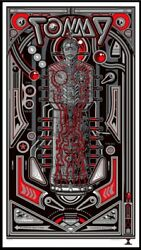 Tommy By Jesse Philips - Silver - Sold Out Mondo Print