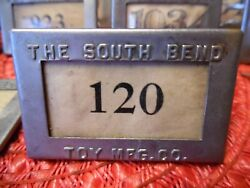 Rare Vtg Antique 1930's Pat South Bend Indiana Toy Mfg Company Employee Badge
