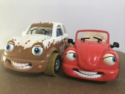 Chevron Cars Rudy Ragtop Number 15 Maddie Mudster Number 36 Lot Of 2 Collectible