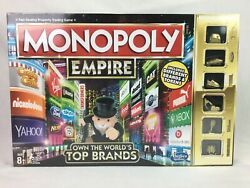 Monopoly Empire Own The World's Top Brands Gold Edition - New And Sealed - 2015