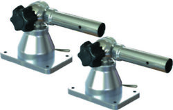 Taco Gs-170 Grand Slam 170 Outrigger Pair Top Mount Ss And Aluminum Boat Fishing