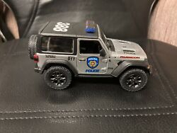 Jeep Rubicon Officially Licensed Die Cast Vehicle Policeman Police Dept.1/34