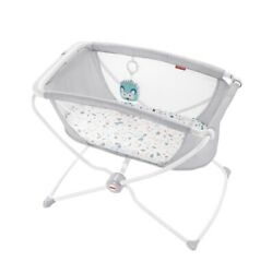 Fisher Price Rock With Me Baby Bassinet Ocean Sands, Baby Bed New Unopened