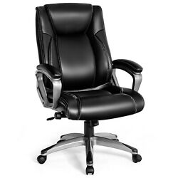 Giantex Executive Big And Tall Office Chair High Back Task Chair W/ Lumbar Support