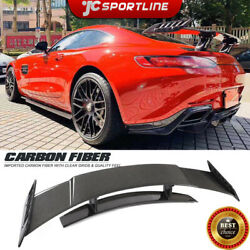 For Benz Amg Gt Coupe 15-18 Rear Trunk Spoiler Lid Wing High Tai Carbon Fiber