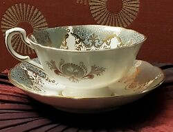 Paragon By Appointment To Her Majesty The Queen China Potters Tea Cup And Saucer