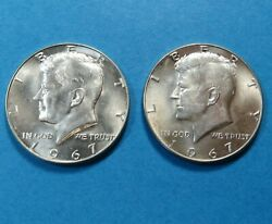 1967 Kennedy Half Dollars 40 Silver Lot Of 2 Combined Shipping Lot 1243