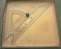 Vintage Keuffel And Esser -luxylite Tri- Tractor With Box - Drafting Tool