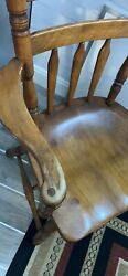 Cushman Colonial Creations One Dining Chair With Arms. Style 7031 Vermont.