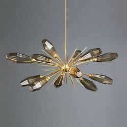 Led Chandelier Ceiling Fixtures Iron Glass Home Hanging Lamp Lighting Decoration
