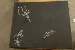 Heavy Metal Festival Tour Hard Cover Book Limited Edition Signed By Vinnie Paul