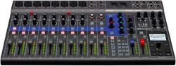 Zoom Zoom Digital Mixer 12ch Live Track 14-in / 4 [3-year Extension Warrant
