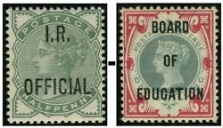 Queen Victoria Officials Sg O1-o81 Mounted Mint Single Stamps