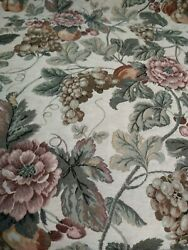 Floral Tapestry Upholstery Fabric Per Yard
