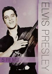 Elvis Presley 5 Movie Collection On Dvd With Slipcover - New