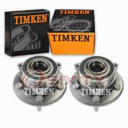 2 Pc Timken Front Wheel Bearing Hub Assembly For 2011-2018 Jeep Grand Lt