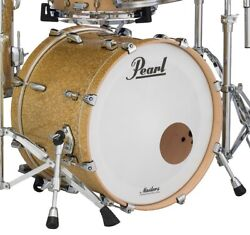 Pearl Masters Complete Mct 20 Dia X 18 Deep Bass Drum/347/bombay Gold Sparkle