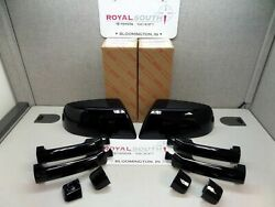 Toyota Tundra Crewmax 218 Black Mirror Cover Door Handle Kit Genuine Oe Oem
