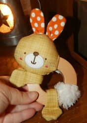 Bright Starts Simply Bright Starts Clutch amp; Hold Wood Toys Bunny $5.99