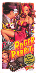 Who Framed Roger Rabbit By Rockin'jelly Bean - Very Sold Out Mondo