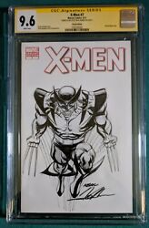X-men 7 Cgc 9.6 Sketch And Signed Original Art Variant By Neal Adams
