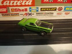 Thunderjet 500 Tuffones Green Challanger T/a 340 With Non-mag Open Rivit Chassis