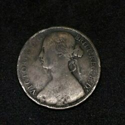 1862 Britain England British English Large Cent Penny Money Queen Victoria A