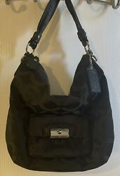 COACH Medium Black Bag Purse FREE SHIPPING $35.00