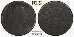 1804 Draped Bust Large Cent Pcgs Secure G-detail S-266b Key Date Rare Mds